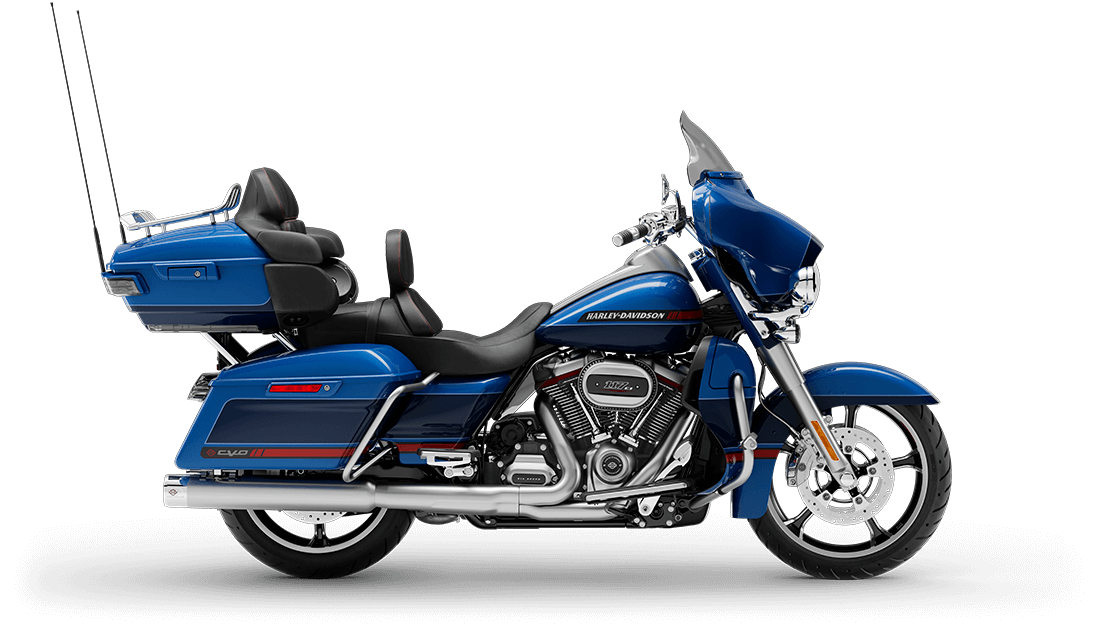 New 2020 CVO Limited FLHTKSE In MOONLIGHT BLUE/DEEP SEA BLUE