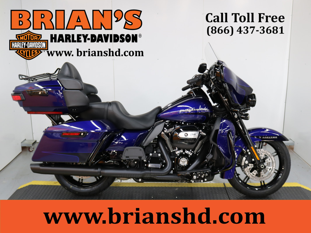 New 2020 Ultra Limited FLHTK In Zephyr Blue & Black Harley-Davidson® W/RDRS