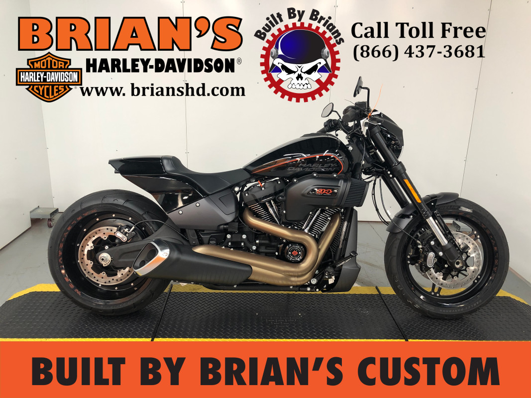 New Custom Built By Brians 2020 FXDR<sup>™</sup> 114 FXDRS  Black Harley-Davidson® Cruiser