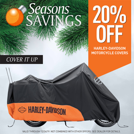 20% OFF Harley-Davidson Motorcycle Covers