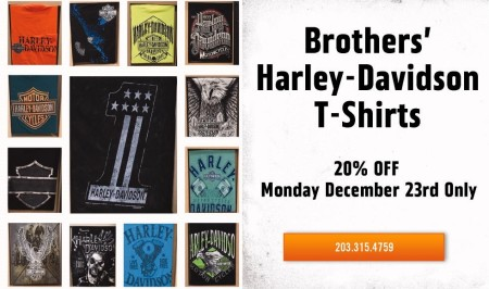 Brothers' T-Shirts 20% Off