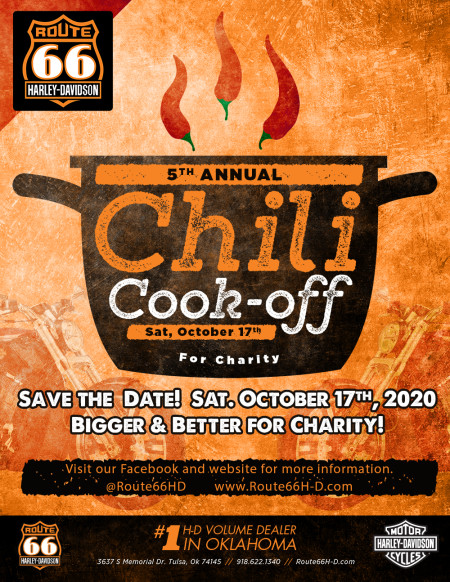 5th Annual Chili Cook Off for Charity