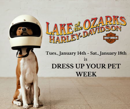 Dress Up Your Pet Week