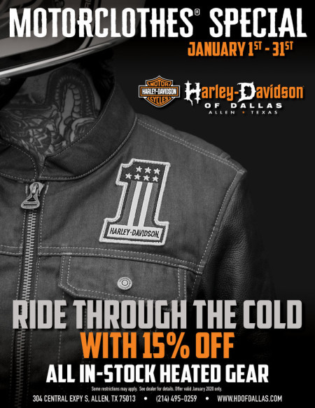 January Motorclothes Special