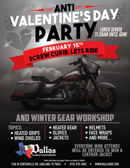 Valentines Day Party and Winter Gear Workshop!