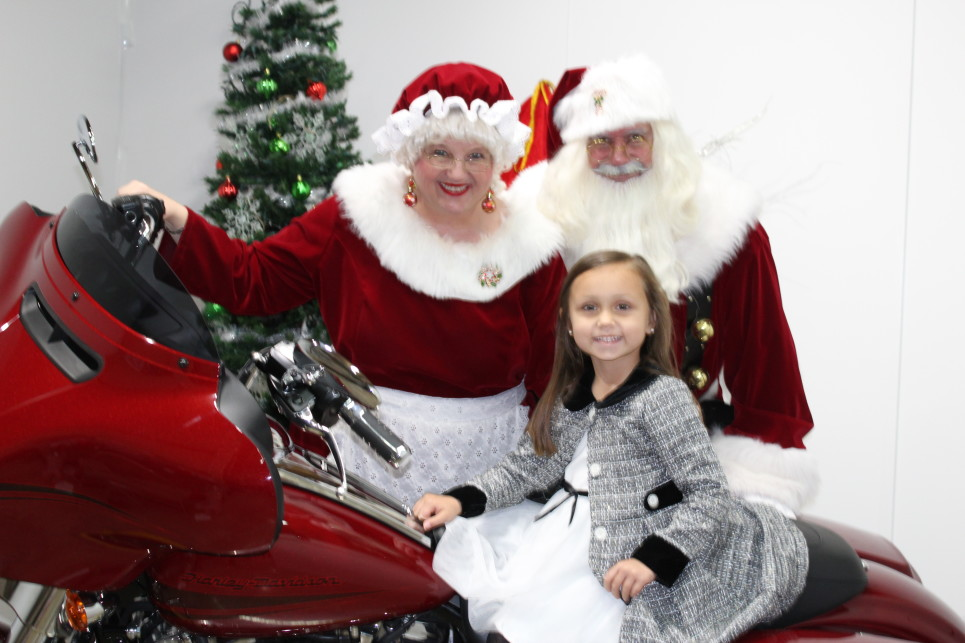 Photos with Santa