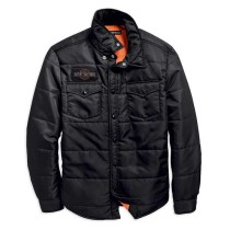 SHIRTJACKET-QUILTED,NYLN,BLK