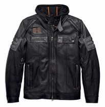 JACKET-BRIDGEPORT,3IN1,LTHR,BLK