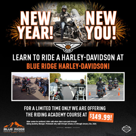 Learn to Ride at Blue Ridge Harley-Davidson