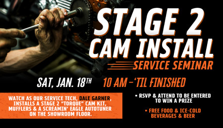 Stage 2 Cam Install Service Seminar