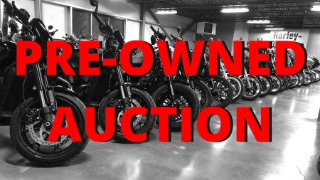 2nd Annual pre-owned inventory auction