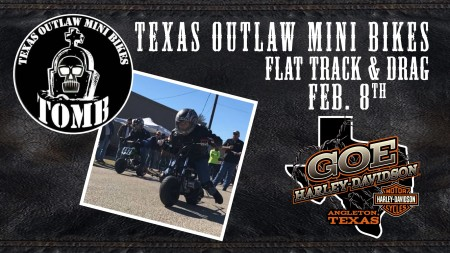 Texas Outlaw Mini Bikes at Goe H-D