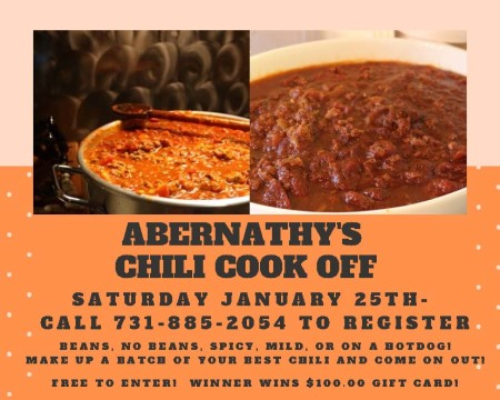 Abernathy's Chili Cook Off
