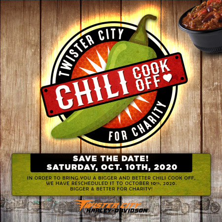Charity Chili Cook Off - Rescheduled