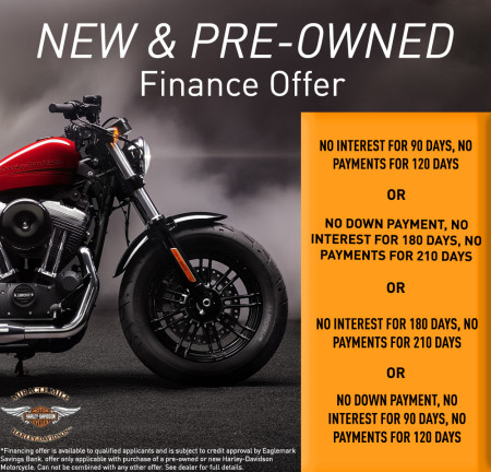 New & Pre-Owned Finance Offer
