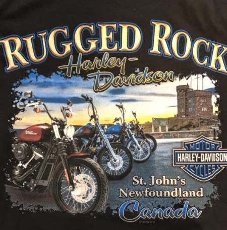 RUGGED ROCK HARLEY-DAVIDSON® BACKPRINTS!