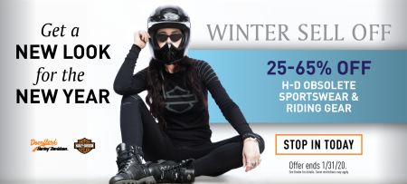 Get a NEW LOOK for the NEW YEAR | Winter Sell Off