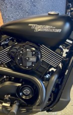 Black Denim 2017 Harley-Davidson Street 750 thumb 2