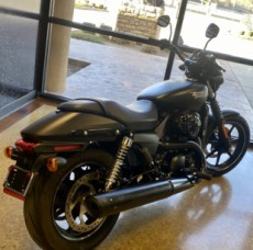 Black Denim 2017 Harley-Davidson Street 750 thumb 1