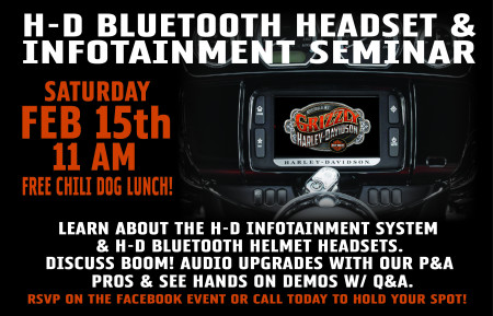 H-D Infotainment & Bluetooth Headset Seminar