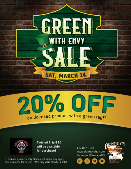 Green With Envy Sale