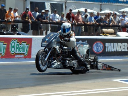 Rich Testing Top Fuel Harley