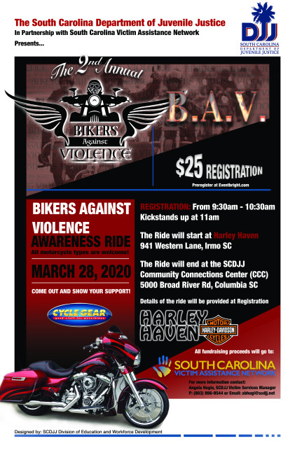 Bikers Against Violence Ride