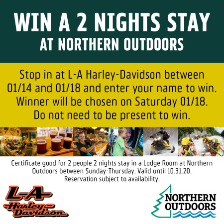Enter to Win a 2 Nights Stay at Northern Outdoors