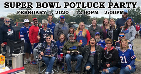 Super Bowl Potluck Party