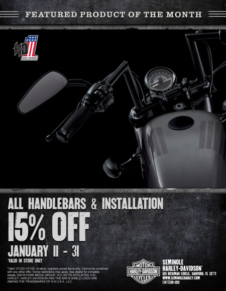 Save on Handlebars & Installation
