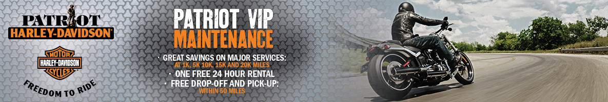 VIP Maintenance Membership at Patriot Harley-Davidson® in Fairfax, VA