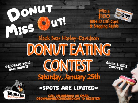 Donut Miss Out - DONUT EATING CONTEST!
