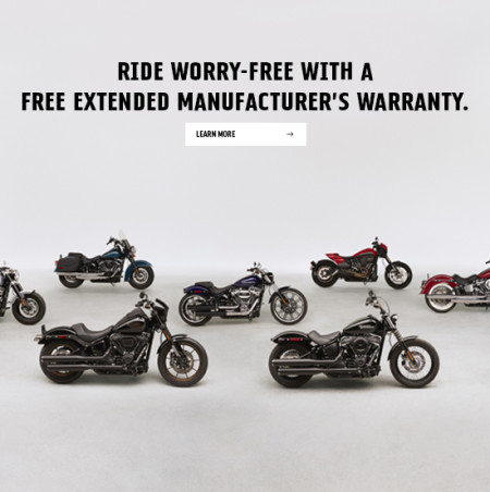 FREE Extended Manufacturer's Warranty