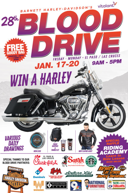 Barnett's Harley-Davidson 28th Blood Drive