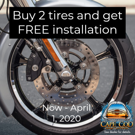 Buy 2 Tires, Get Free Installation