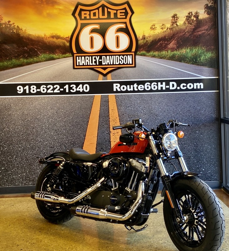 Performance Orange 2020 Harley-Davidson® Forty-Eight®