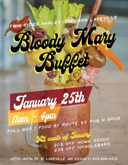 Bloody Mary Buffet
