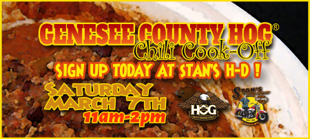 Genesee County HOG Chili Cook-Off