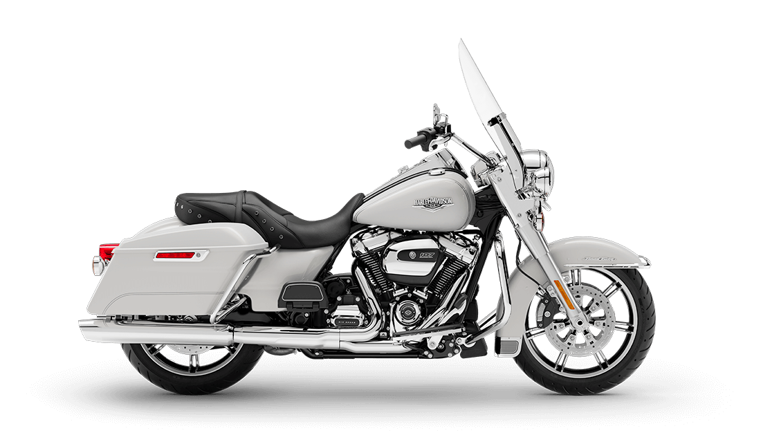 2020 Harley Davidson FLHR Road King in White For Sale with RDRS