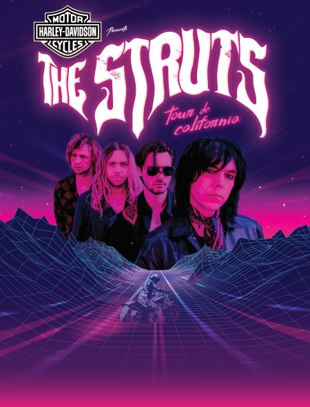 ENTER TO WIN... THE STRUTS TOUR DE CALIFORNIA PRESENTED BY HARLEY-DAVIDSON