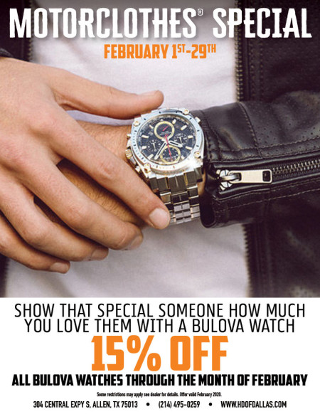 February Motorclothes Special: