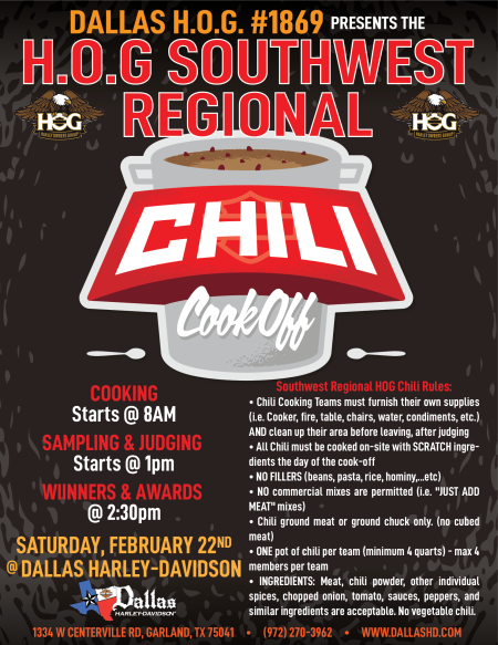Southwest Regional Chili Cook off!