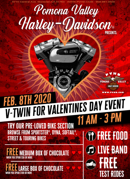 V-Twin For Valentines Day Event