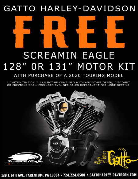 Screamin Eagle 128