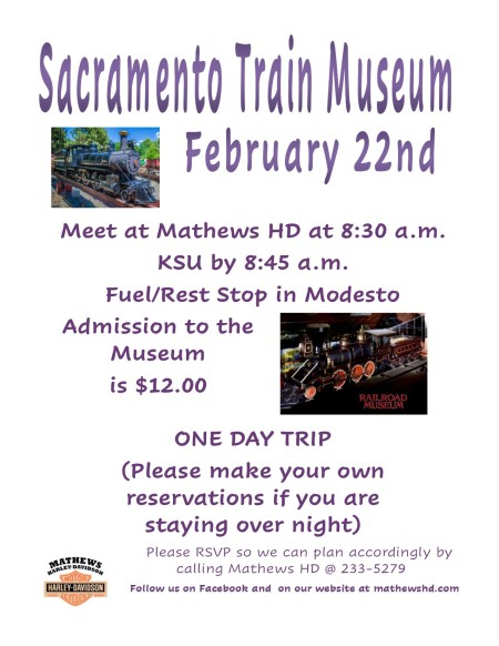 SACRAMENTO TRAIN MUSEUM RIDE