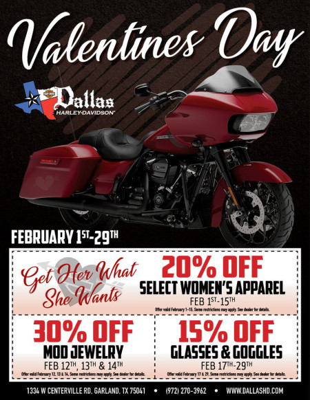 February Motorclothes Special
