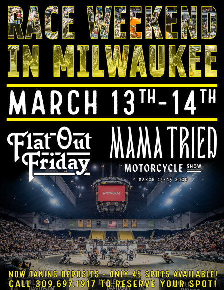 Flat Out Friday/Mama Tried Trip to Milwaukee