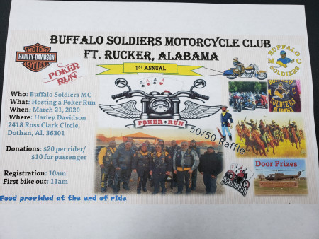 Buffalo Soldiers Poker Run