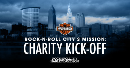 Rock-n-Roll City's Mission: Charity Kick-Off