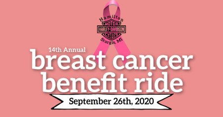 14th Annual Breast Cancer Benefit Ride